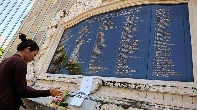 Bali Bombing Memorial Bible Kab Badung