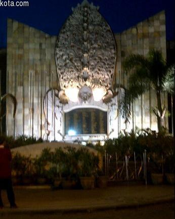 Bali Bombing Memorial Ground Monument Jalan Legian Kuta Photo Kab