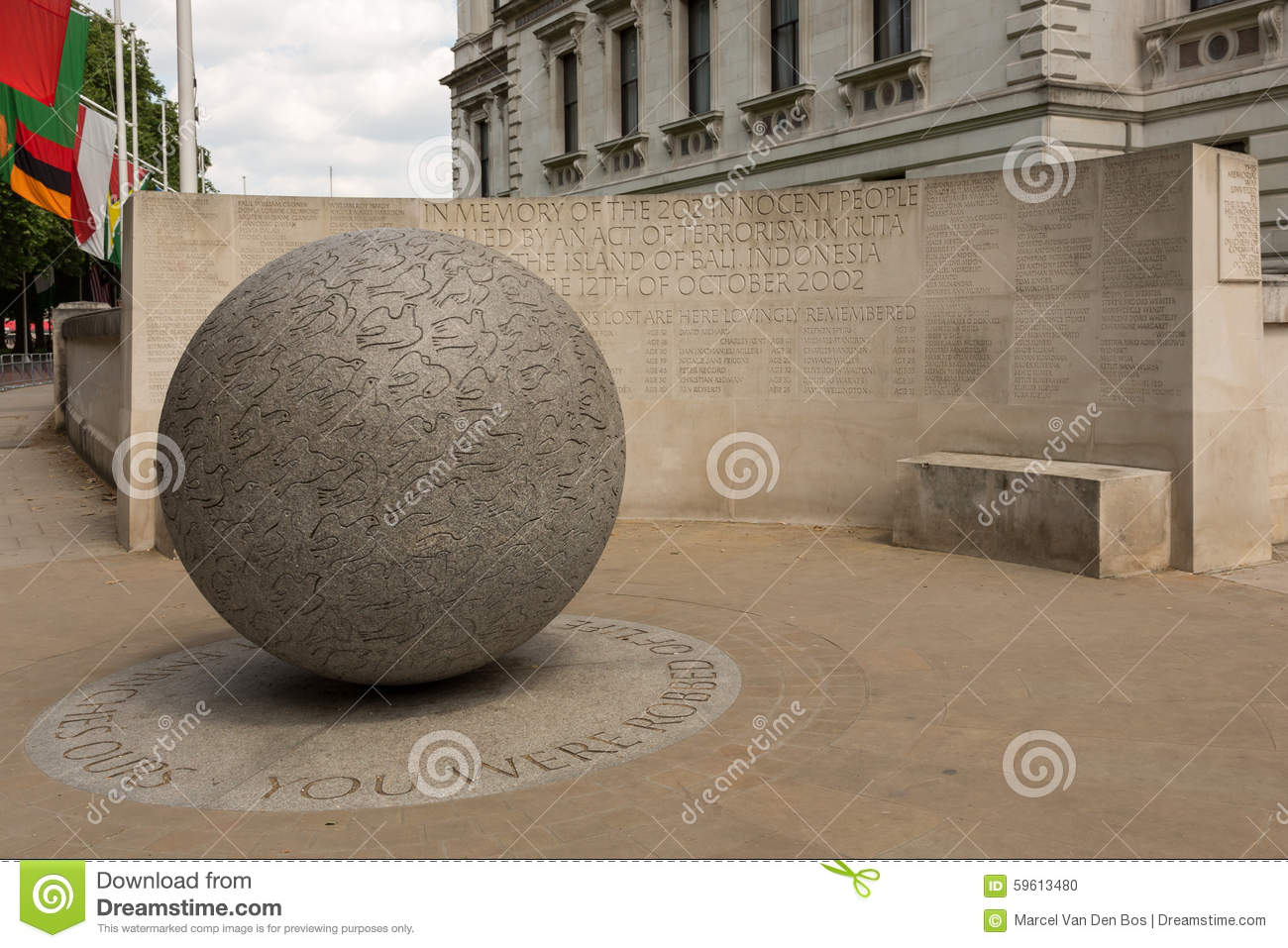 Bali Bombing Memorial Indonesia Editorial Photography Image Monument London Stock