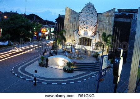 Bali Bombing Memorial Jalan Legian Kuta Memory Victims Terrorist Wall