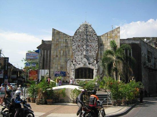 Bali Bombing Memorial Picture Ground Monument Kuta Kab Badung