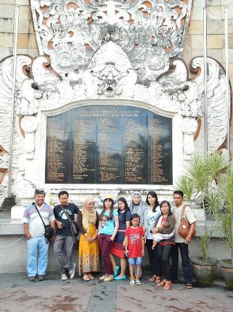 Bali Bombing Memorial Picture Ground Monument Kuta Photo Kab Badung