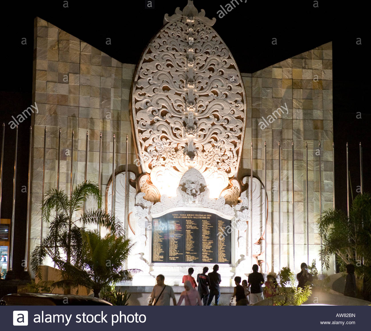 Bali Bombing Memorial Stock Photos Kuta Indonesia Image Kab Badung