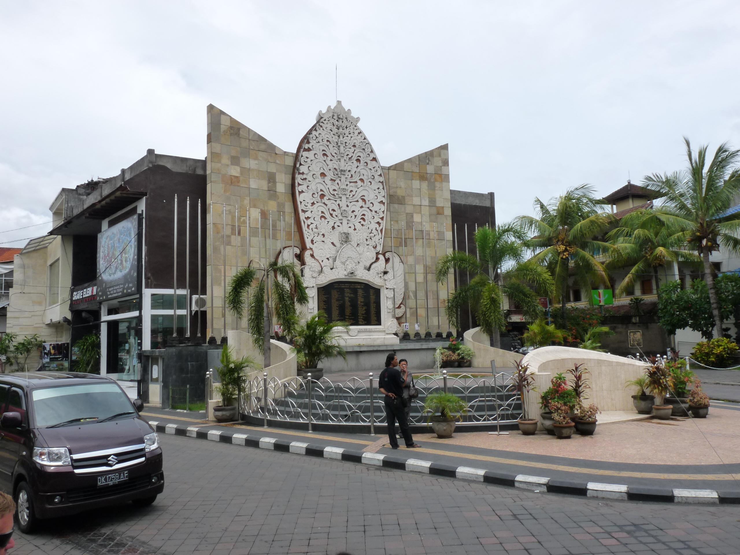 Bert Patty Love Bali Bombing Memorial Kab Badung