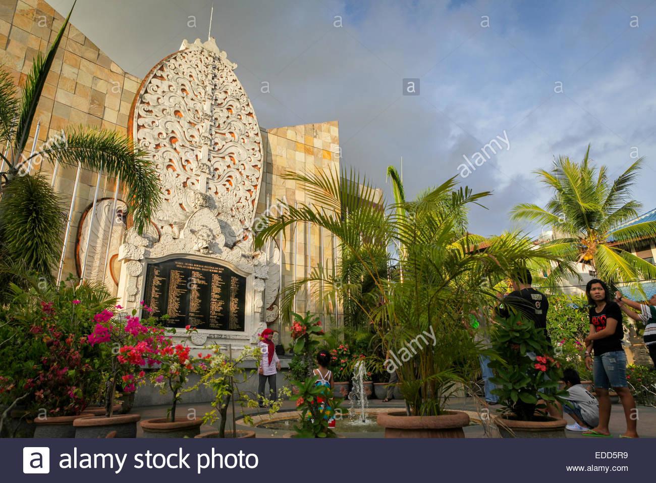 Ground Monument Bali Bombing Memorial Kuta Stock Photo 77121949 Alamy