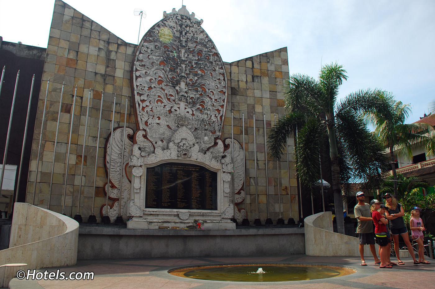 Kuta Beach Attractions Bali Bombing Memorial Monument Kab Badung