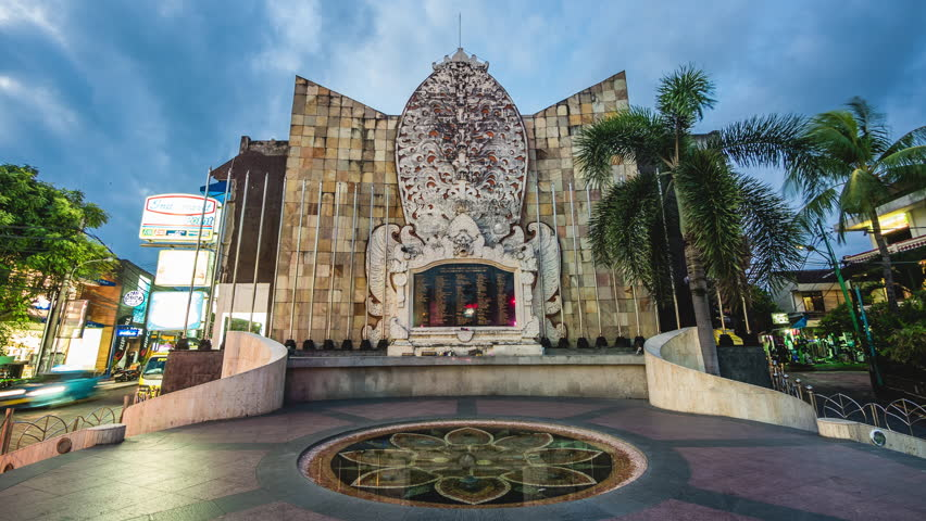 Kuta Indonesia June 17 2017 Close Bali Bombing August 3