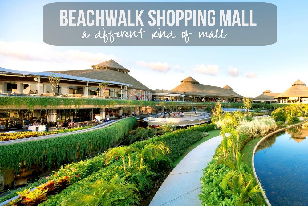 Beachwalk Shopping Mall Bali Kura Main Kab Badung
