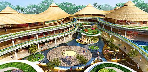 Beachwalk Shopping Mall Kuta Beach Bali Steps Located Main Newly