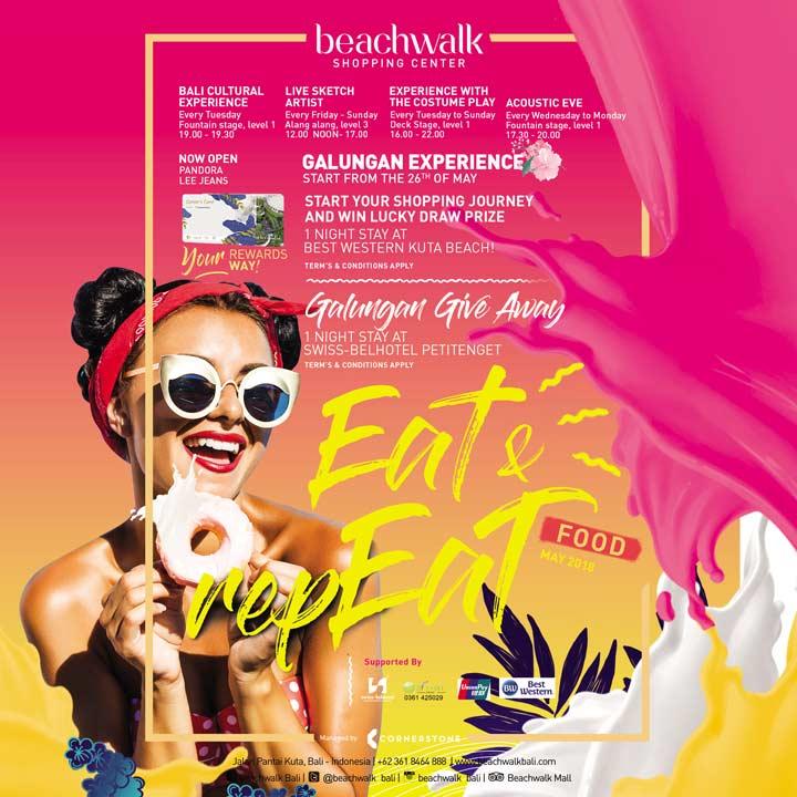 Eat Repeat Event Beachwalk Bali Kab Badung