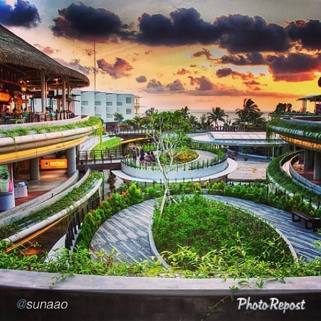 Shopping Centre Beachwalk Kuta Bali Indonesia Kab Badung