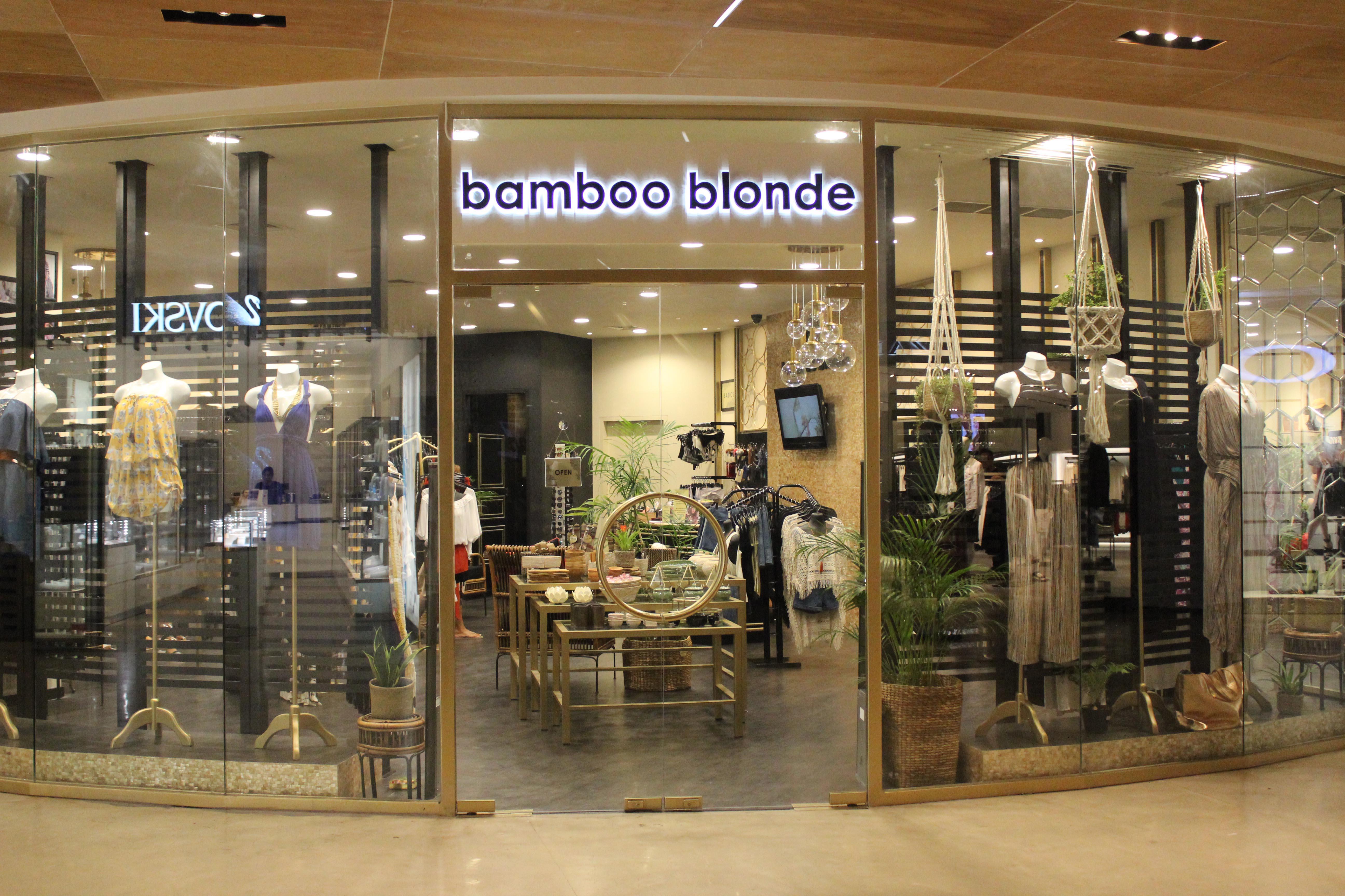 Store Beachwalk Bamboo Blonde Kab Badung