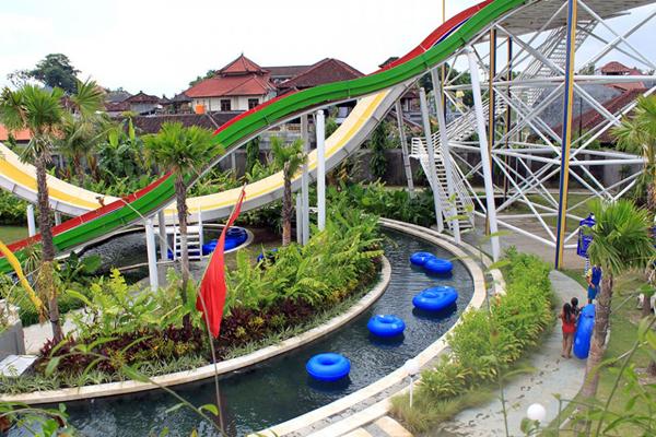 Bali Indonesia Holiday Travels Rides Games Circus Photos Water Park