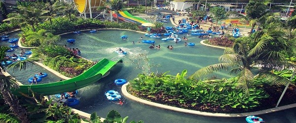 Bali Water Park World Group Tours Circus Waterpark Kab Badung