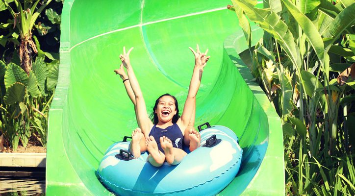 Bali Water Theme Park Adventure Spiral Slider Circus Kab Badung