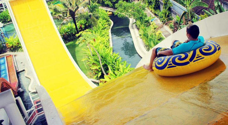 Bali Water Theme Park Adventure Wave Slider Circus Kab Badung