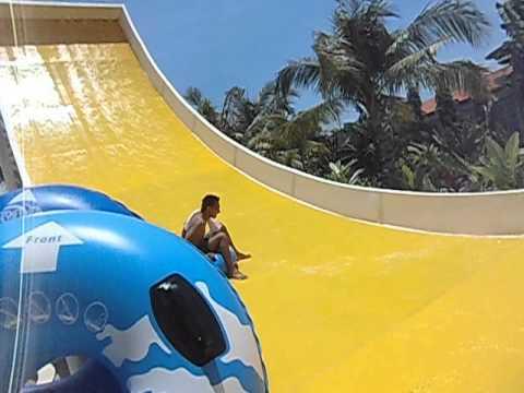 Boomerang Circus Waterpark Bali Youtube Water Park Kab Badung