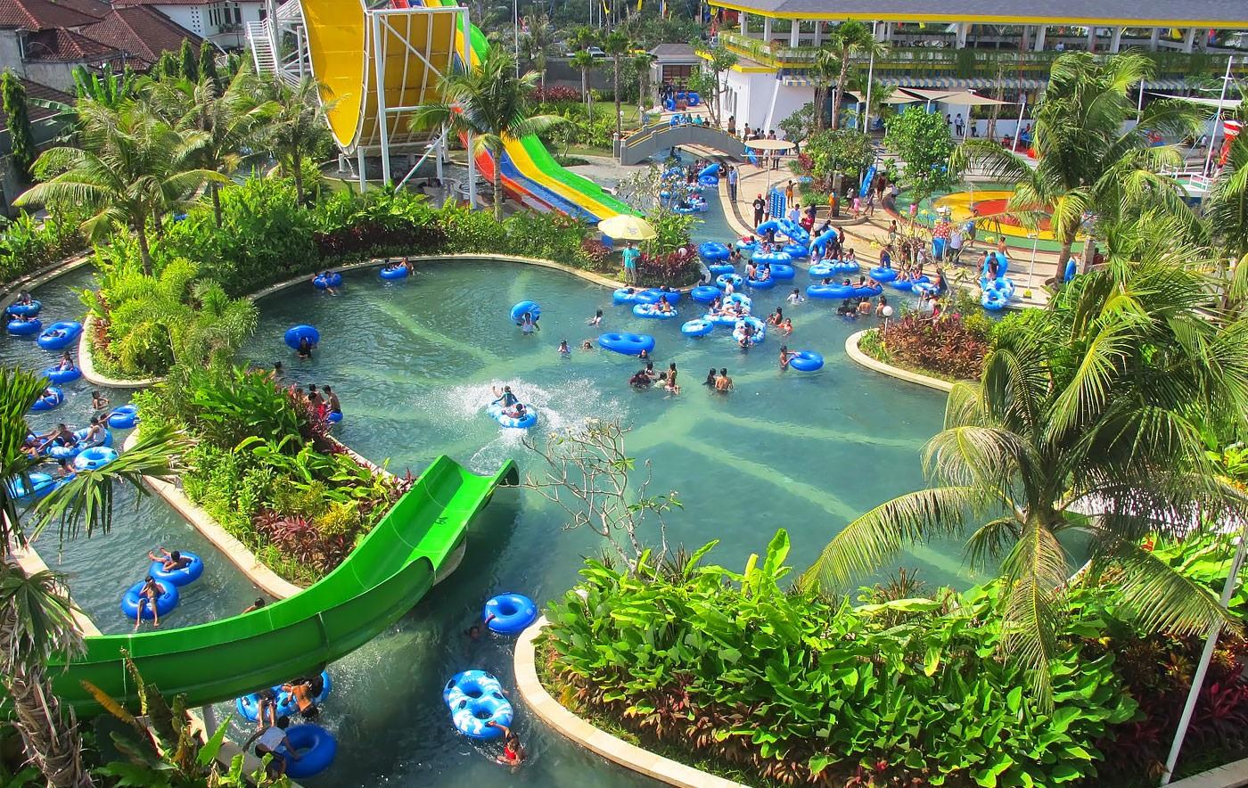 Circus Waterpark Bali Group Ticket Meals Vizitrip Water Park Kab