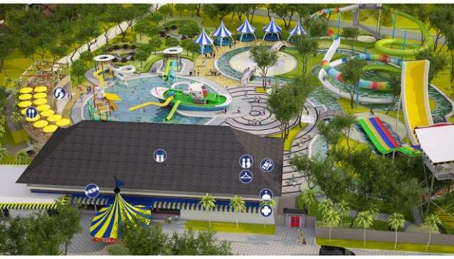 Circus Waterpark Bali Guide Water Park Kab Badung