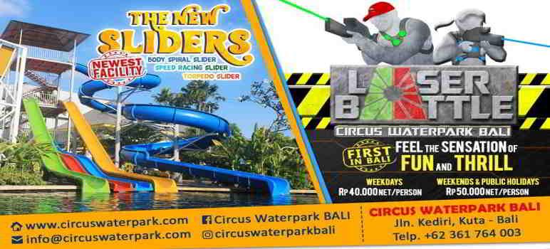 Circus Waterpark Kuta Info Harga Tiket Masuk Review Wahana Bali