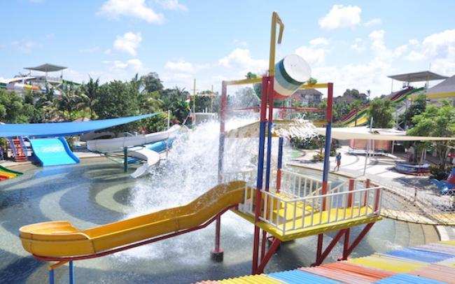 Circus Waterpark Kuta Tiket Masuk Wahana Travels Kiddy Pool Bali