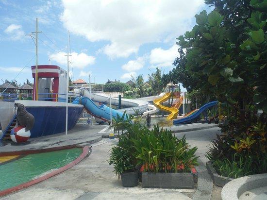 Circus Waterpark Tuban Water Bucket Picture Bali Park Kab Badung