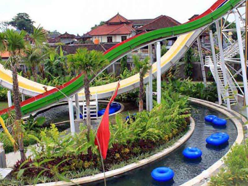 Circus Waterpark Wahana Rekreasi Air Bali Liburan Water Park Kab