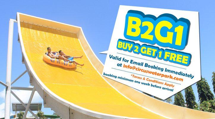 Circuswaterpark Bali Water Park Waterpark Kuta B2g1 Buy 2 1