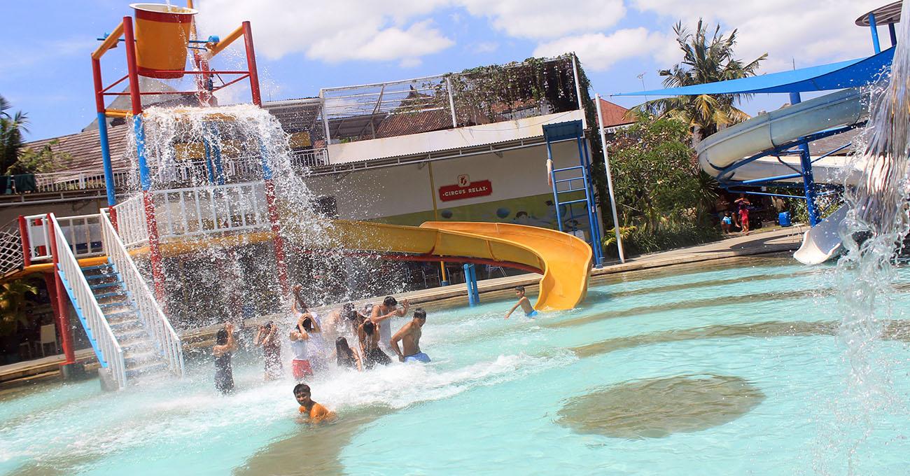 Circuswaterpark Bali Water Park Waterpark Kuta Kid Pool Circus Kab
