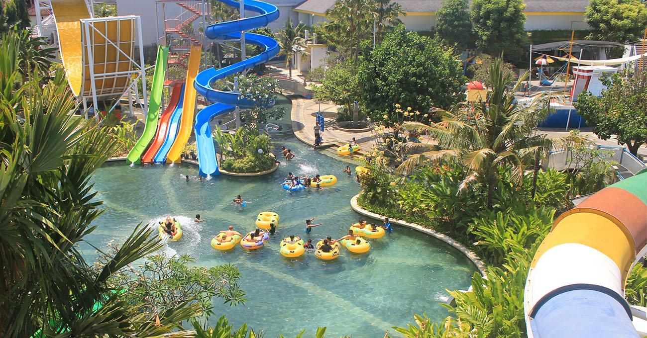 Circuswaterpark Bali Water Park Waterpark Kuta Main Pool Circus Kab