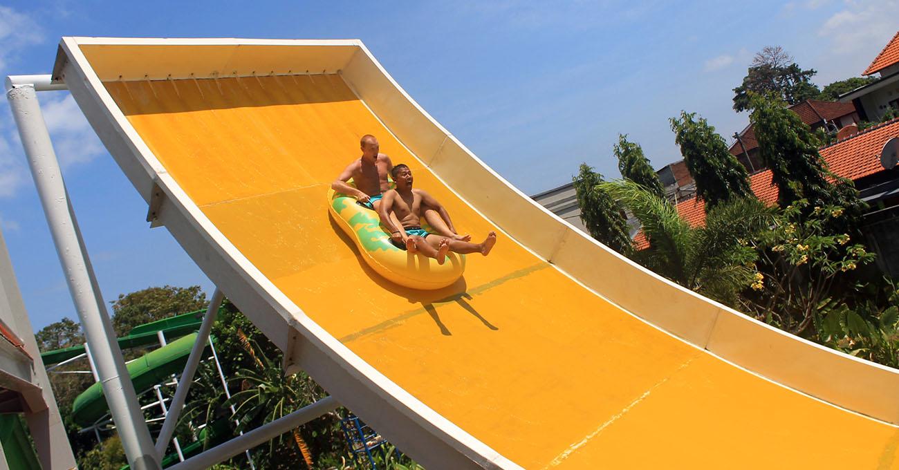 Circuswaterpark Bali Water Park Waterpark Kuta Wave Slider Circus Kab