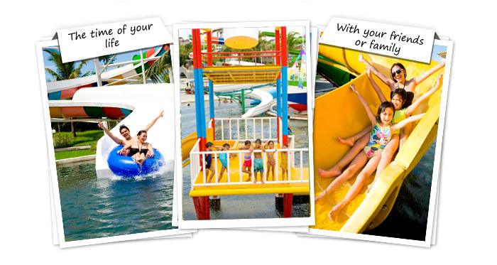 Experience Fun Day Splashing Sliding Circus Waterpark Nyaman Group Indonesia