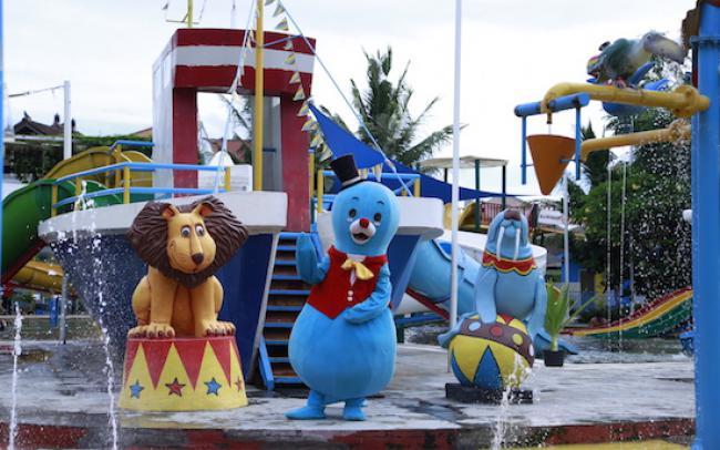 Favourite Waterparks Bali Circus Waterpark Kids Guide Water Park Kab