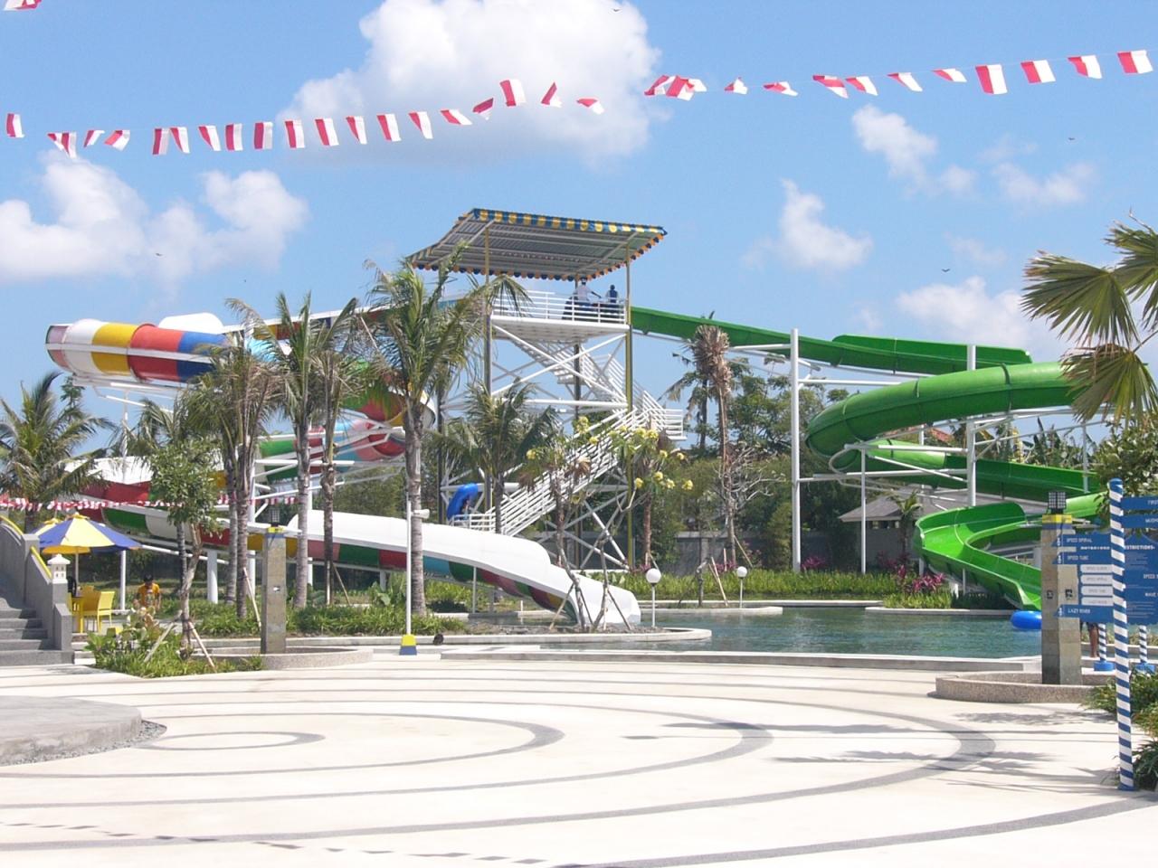 Favourite Waterparks Bali Circus Waterpark Water Park Kab Badung