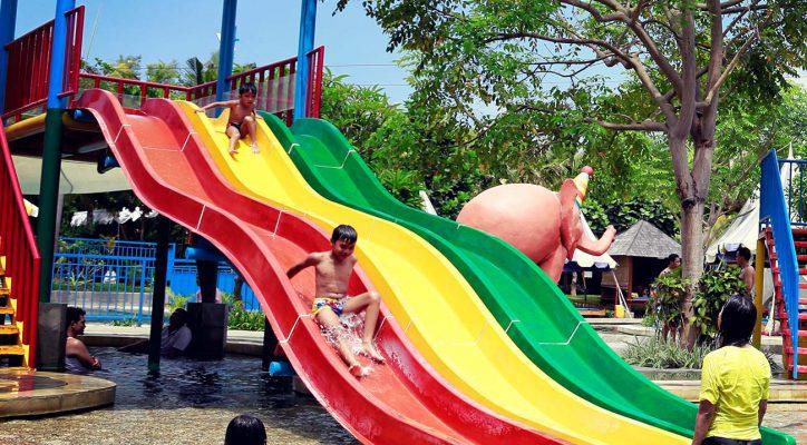Kids Rides Circus Waterpark Bali Mini Speed Racing Water Park
