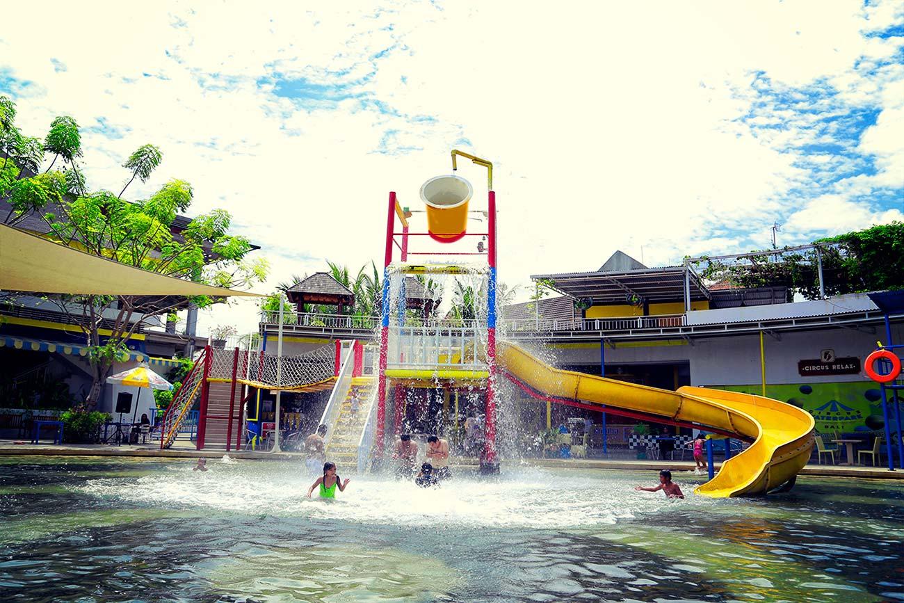 Kids Rides Circus Waterpark Bali Spill Bucket Water Park Kab