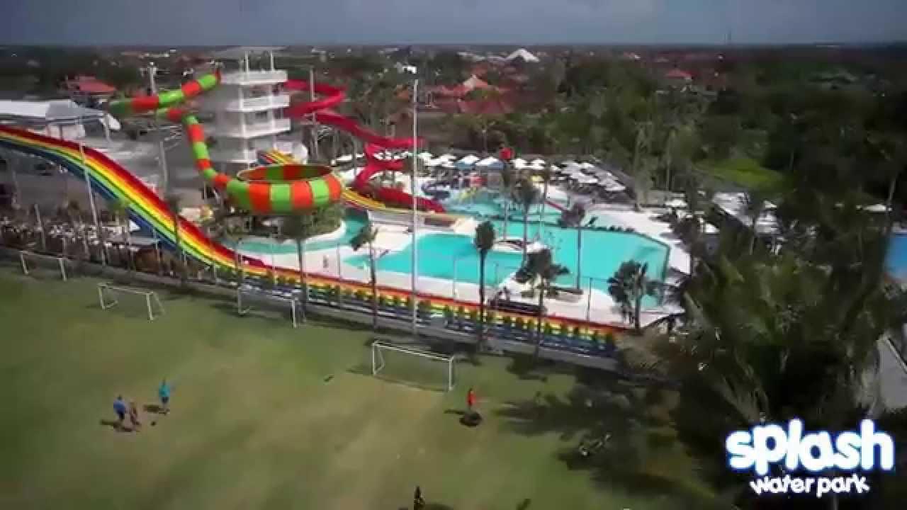 Splash Waterpark Bali Youtube Circus Water Park Kab Badung