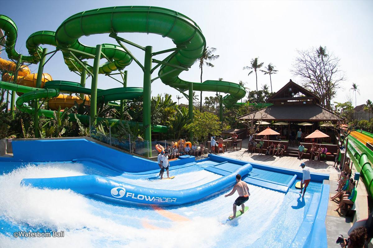 Waterbom Bali Waterparks Circus Water Park Kab Badung
