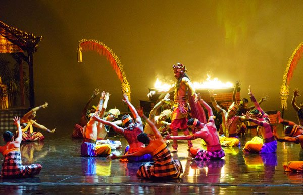 Bali Devdan Show Food Folks Fun Treasure Archipelago Performance Kab