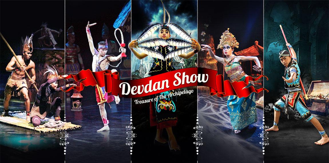 Bali Resort Show Entertainment Devdan Nusa Dua Theatre Located Kab