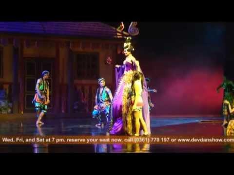 Devdan Show Amazing Bali Attractions Activities Nusa Dua Theatre Kab