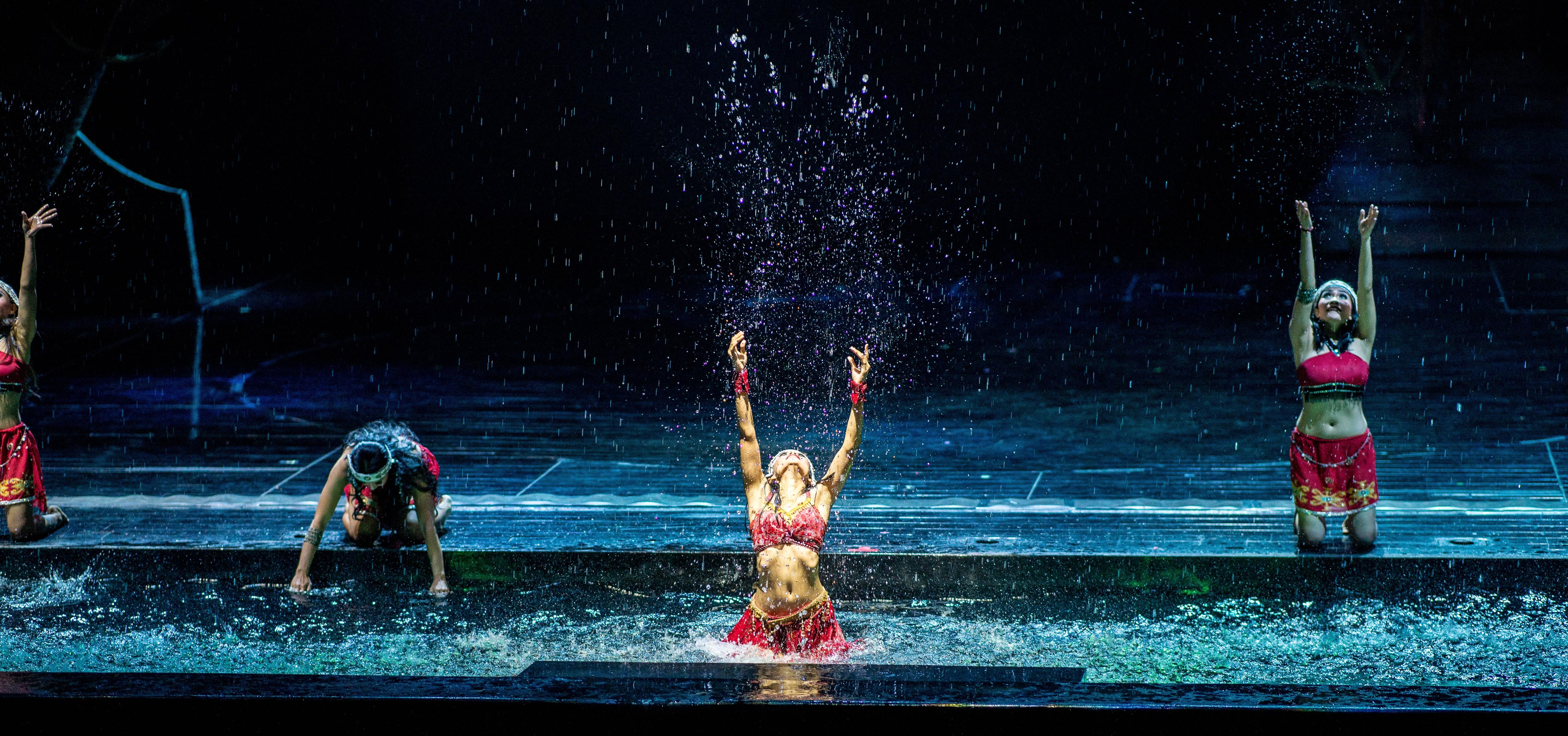 Devdan Show Bali Indonesia Album Imgur Water Dance Visited Kab