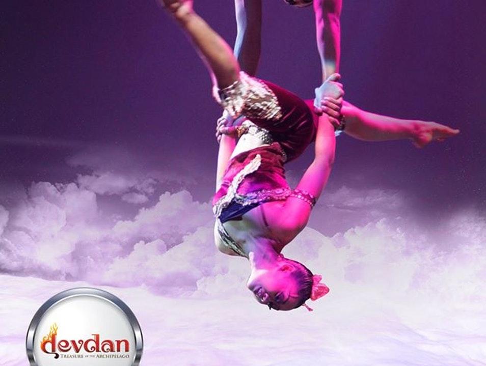 Devdan Show Bali Nusa Dua Theatre Kuta Afar Dance Journey