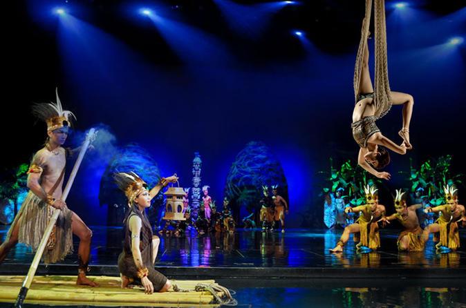 Devdan Show Bali Nusa Dua Theatre Triphobo Kab Badung