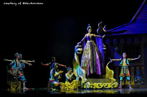 Devdan Show Introducing Indonesian Cultures Indohoy Kab Badung
