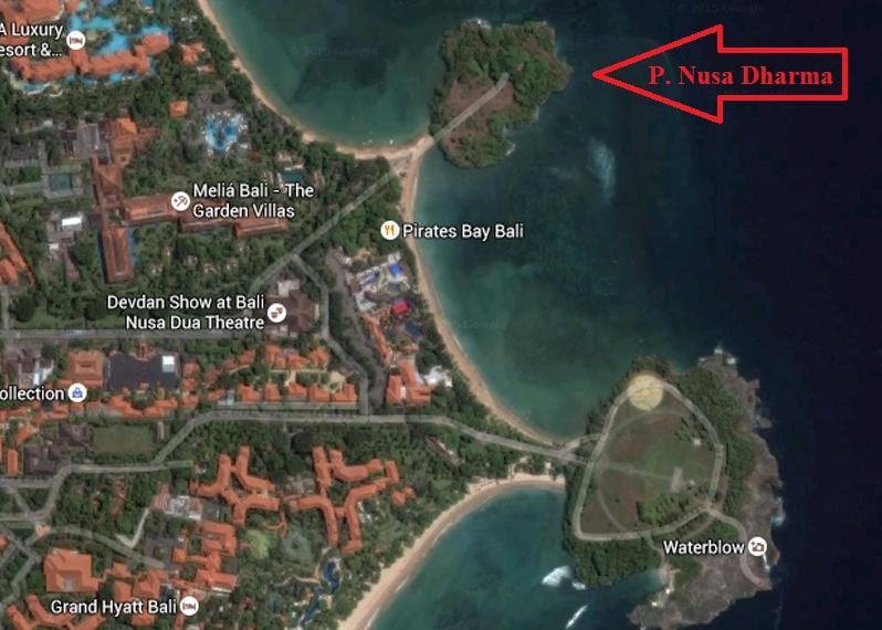 Pulau Nusa Dharma Wisata Kabupaten Badung Devdan Show Kab