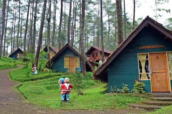 Dusun Bambu Family Leisure Park Wisata Lembang Bandung Gravity Adventure