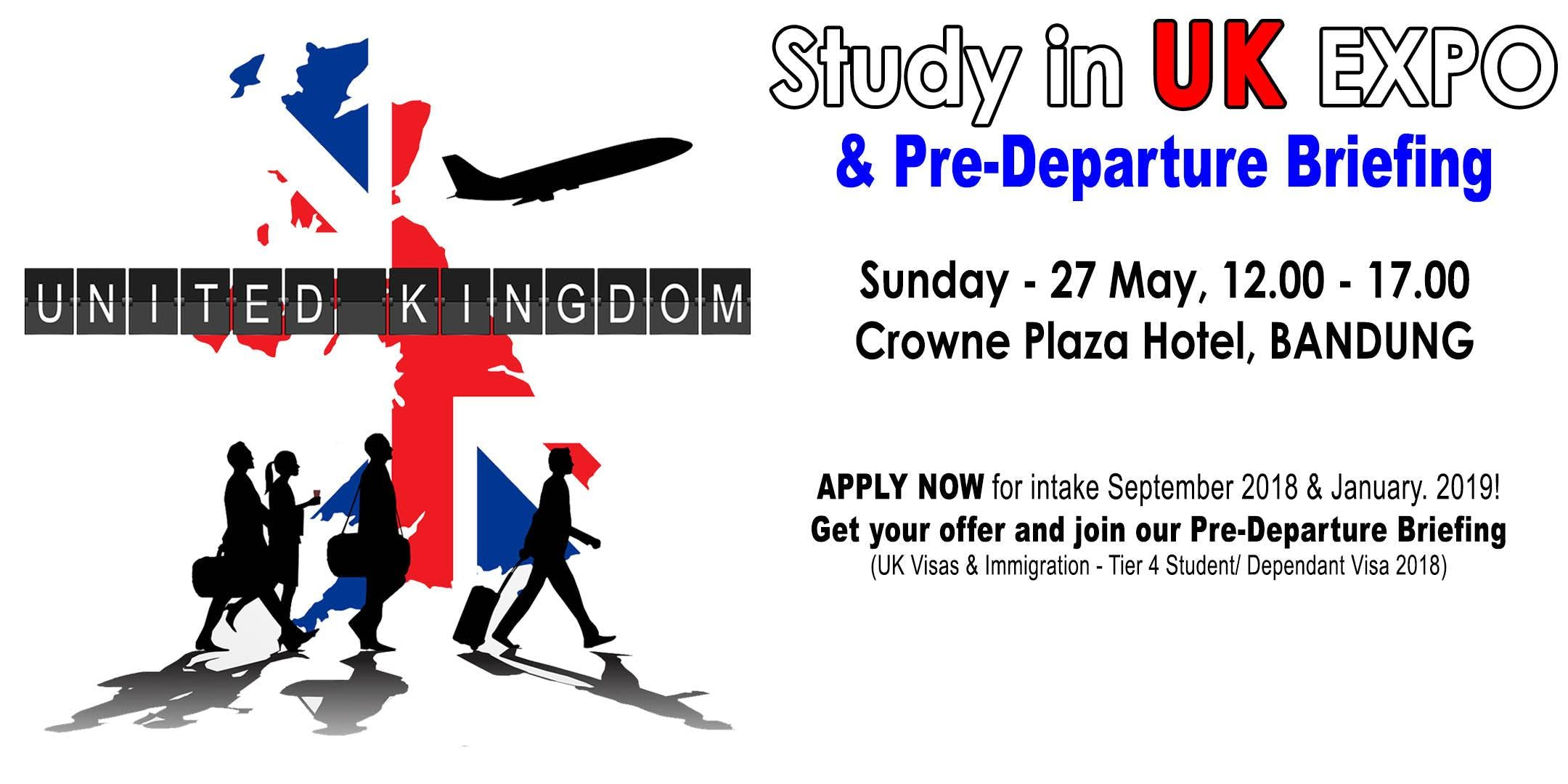 Events Bandung Today Upcoming Study Uk Expo Pre Departure Briefing