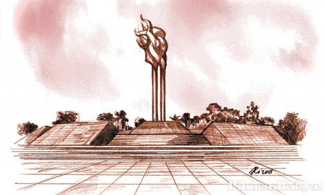 Lapangan Tegallega Leganya Ruang Publik Pikiran Rakyat Berupa Monumen Bandung