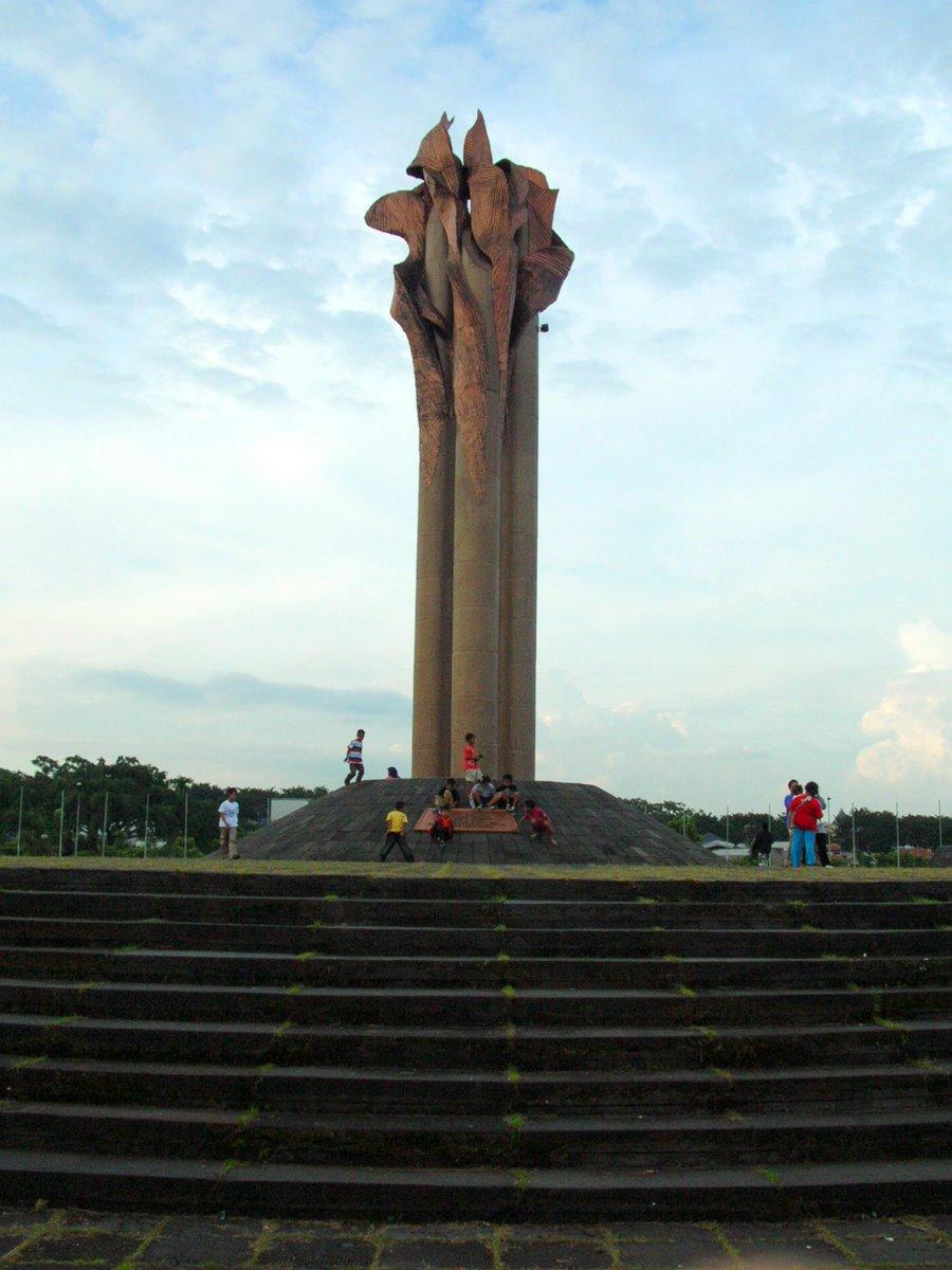Monumen Bandung Lautan Api Catatan Sejarah Kab Badung